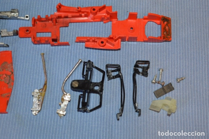 Scalextric: LOTE Ferrari B3 F1 4052 y TYRRELL FORD C-48 - Rojos SCALEXTRIC EXIN Original - MADE IN SPAIN ¡Mira! - Foto 15 - 174084245