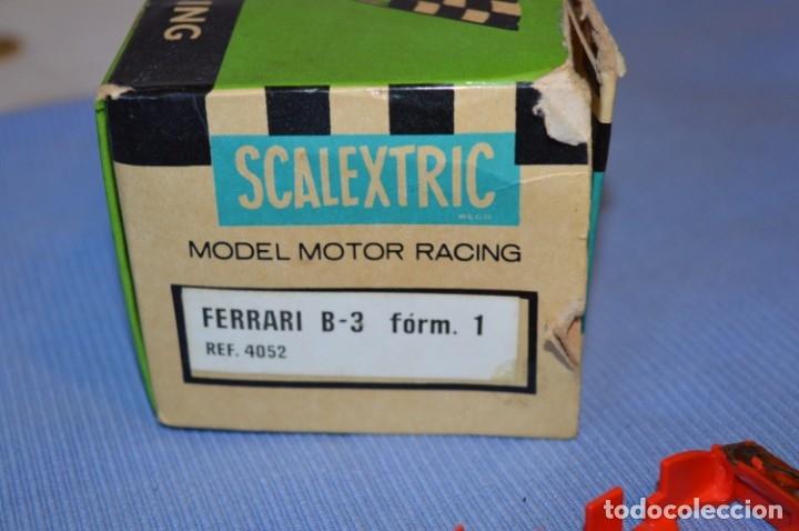 Scalextric: LOTE Ferrari B3 F1 4052 y TYRRELL FORD C-48 - Rojos SCALEXTRIC EXIN Original - MADE IN SPAIN ¡Mira! - Foto 20 - 174084245