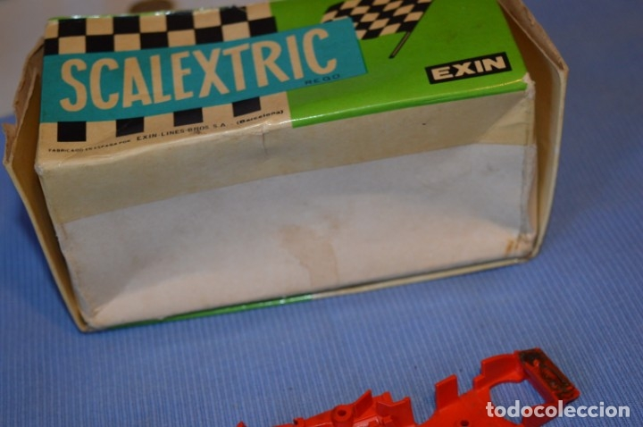 Scalextric: LOTE Ferrari B3 F1 4052 y TYRRELL FORD C-48 - Rojos SCALEXTRIC EXIN Original - MADE IN SPAIN ¡Mira! - Foto 23 - 174084245