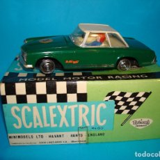 Scalextric: SCALEXTRIC EXIN MERCEDES 250 SL REF C-32 COLOR VERDE CAPOTA BLANCO RACE TUNED. Lote 174091452