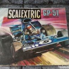 Scalextric: CAJA VACIA CIRCUITO GP 51 SCALEXTRIC EXIN. Lote 174100573