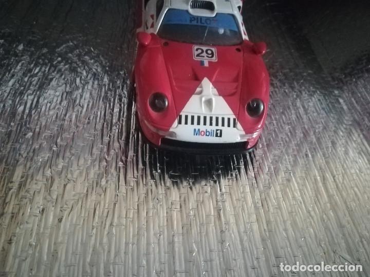 Scalextric: COCHE SCALEXTRIC PORCHE 911 GT1 Nº29 MOBIL 1 - Foto 3 - 174250424