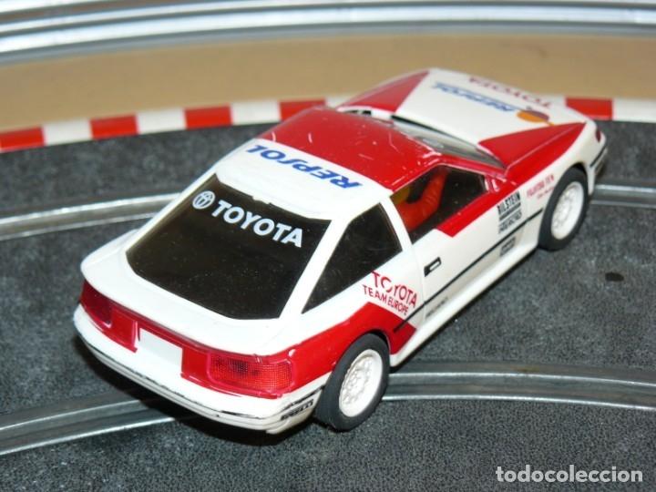 Scalextric: Scalextric Exin Coche TOYOTA CELICA Repsol traccion total y luces slot car - Foto 2 - 174261685
