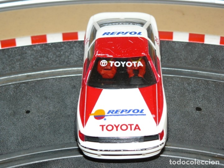 Scalextric: Scalextric Exin Coche TOYOTA CELICA Repsol traccion total y luces slot car - Foto 3 - 174261685