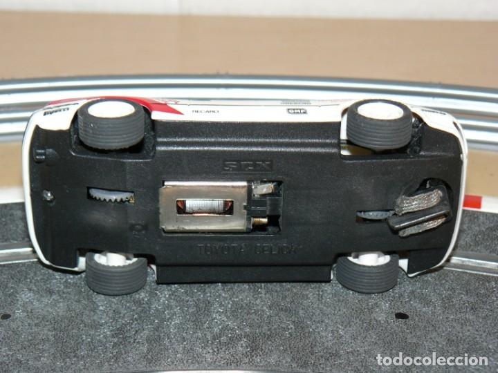 Scalextric: Scalextric Exin Coche TOYOTA CELICA Repsol traccion total y luces slot car - Foto 4 - 174261685