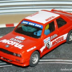 Scalextric: SCALEXTRIC EXIN COCHE BMW M3 MOTUL ROJO CON LUCES SLOT CAR. Lote 174262184
