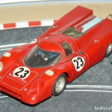 Scalextric: SCALEXTRIC EXIN COCHE PORSCHE 917 ROJO REF. C-46 LE MANS MADE IN SPAIN SLOT CAR. Lote 174262758