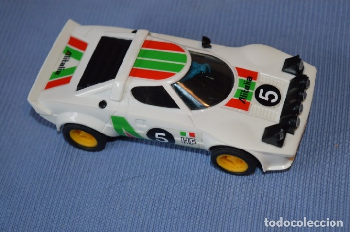 Scalextric: ANTIGUO - LANCIA STRATOS BLANCO - Ref. 4055 - EXIN - SCALEXTRIC - MADE IN SPAIN ¡Excelente estado! - Foto 2 - 174328352