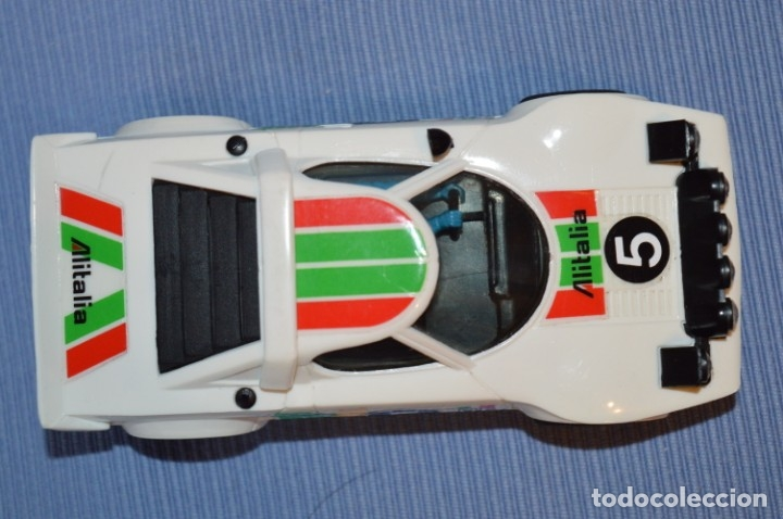 Scalextric: ANTIGUO - LANCIA STRATOS BLANCO - Ref. 4055 - EXIN - SCALEXTRIC - MADE IN SPAIN ¡Excelente estado! - Foto 3 - 174328352
