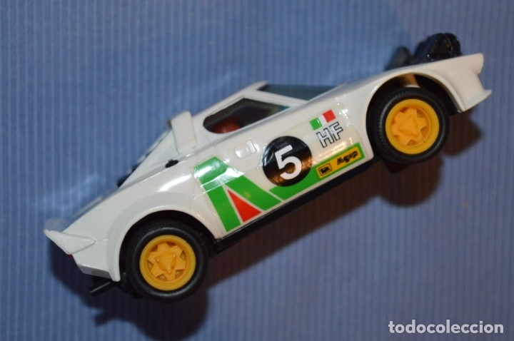Scalextric: ANTIGUO - LANCIA STRATOS BLANCO - Ref. 4055 - EXIN - SCALEXTRIC - MADE IN SPAIN ¡Excelente estado! - Foto 4 - 174328352