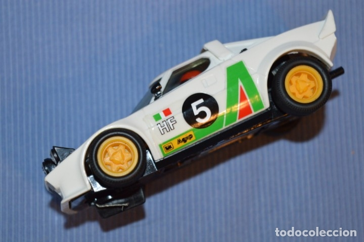 Scalextric: ANTIGUO - LANCIA STRATOS BLANCO - Ref. 4055 - EXIN - SCALEXTRIC - MADE IN SPAIN ¡Excelente estado! - Foto 5 - 174328352