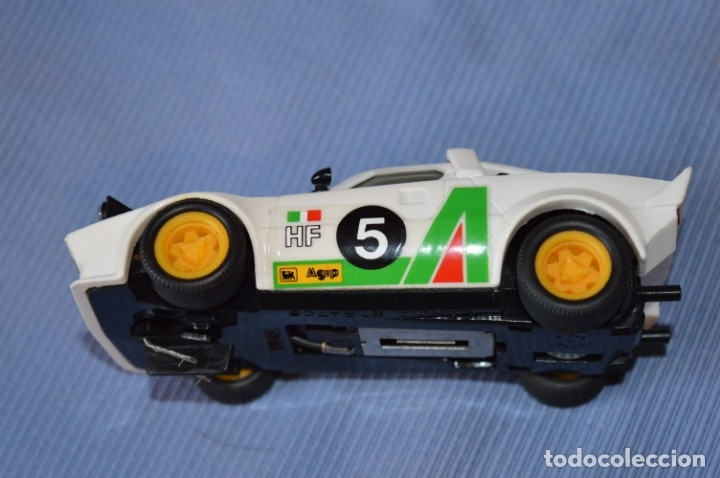Scalextric: ANTIGUO - LANCIA STRATOS BLANCO - Ref. 4055 - EXIN - SCALEXTRIC - MADE IN SPAIN ¡Excelente estado! - Foto 6 - 174328352