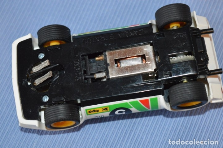 Scalextric: ANTIGUO - LANCIA STRATOS BLANCO - Ref. 4055 - EXIN - SCALEXTRIC - MADE IN SPAIN ¡Excelente estado! - Foto 7 - 174328352