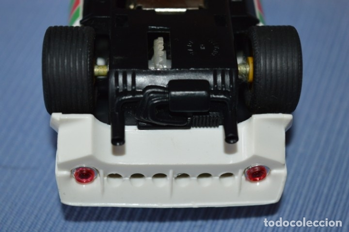 Scalextric: ANTIGUO - LANCIA STRATOS BLANCO - Ref. 4055 - EXIN - SCALEXTRIC - MADE IN SPAIN ¡Excelente estado! - Foto 8 - 174328352