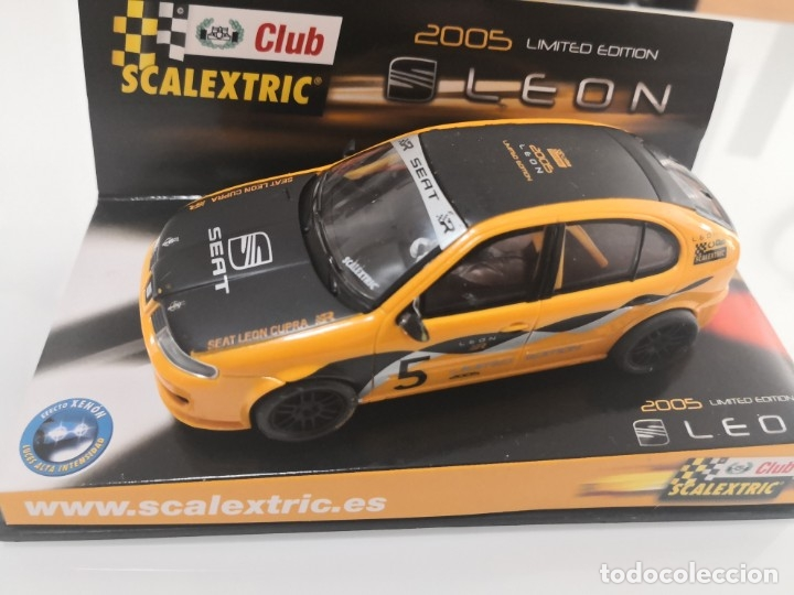 SEAT LEON CLUB SCALEXTRIC SLOT 2005 (Juguetes - Slot Cars - Scalextric Exin)
