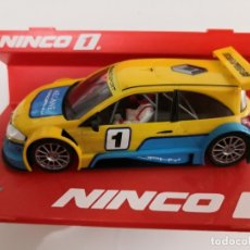 Scalextric: SCALEXTRIC NINCO. RENAULT MEGANE TROPHY. WORLD CHAMPION. REF. 50429. Lote 174387119