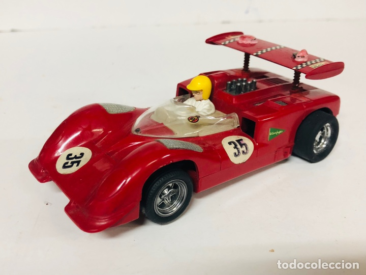 SCALEXTRIC EXIN CHAPARRAL GT C-40 ROJO (Juguetes - Slot Cars - Scalextric Exin)