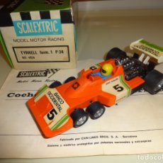 Scalextric: SCALEXTRIC. EXIN. TYRRELL F1 P34 BANCO OCCIDENTAL. REF. 4054. Lote 175051942