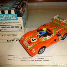 Scalextric: SCALEXTRIC. EXIN. RENAULT ALPINE 2000 TURBO BANCO OCCIDENTAL. REF. 4053. Lote 175052202