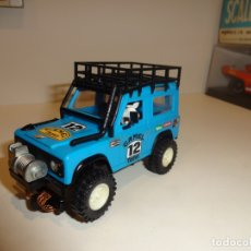 Scalextric: SCALEXTRIC. EXIN. STS. LAND ROVER AZUL. Lote 175456739