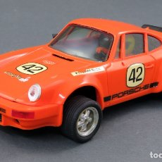 Scalextric: PORSCHE 911 CARRERA RS SCALEXTRIC EXIN Nº 42 NARANJA 1985. Lote 175515584