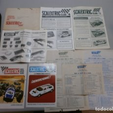 Scalextric: DOCUMENTACION Y CATALOGOS SCALEXTRIC CLUB Nº4 Y Nº 5 AÑOS 1970-71. Lote 175699852