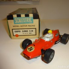 Scalextric: SCALEXTRIC. EXIN. COOPER CLIMAX ROJO. Lote 175721695