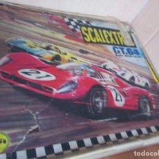 Scalextric: SCALEXTRIC: CAJA ANTIGUA MODELO GT 64. Lote 175891352