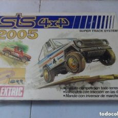 Scalextric: CIRCUITO SCALEXTRIC EXIN STS 4X4 REF. 2005 SIN COCHES. Lote 175918082
