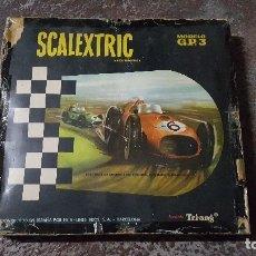 Scalextric: SCALEXTRIC EXIN GP3 COMPLETO CON CAJA. Lote 175944545