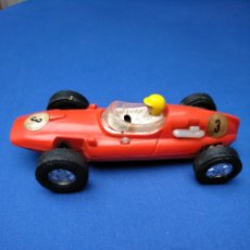 Scalextric: SCALEXTRIC EXIN, COOPER ROJO DOBLE GUÍA, ORIGINAL. Lote 176074642