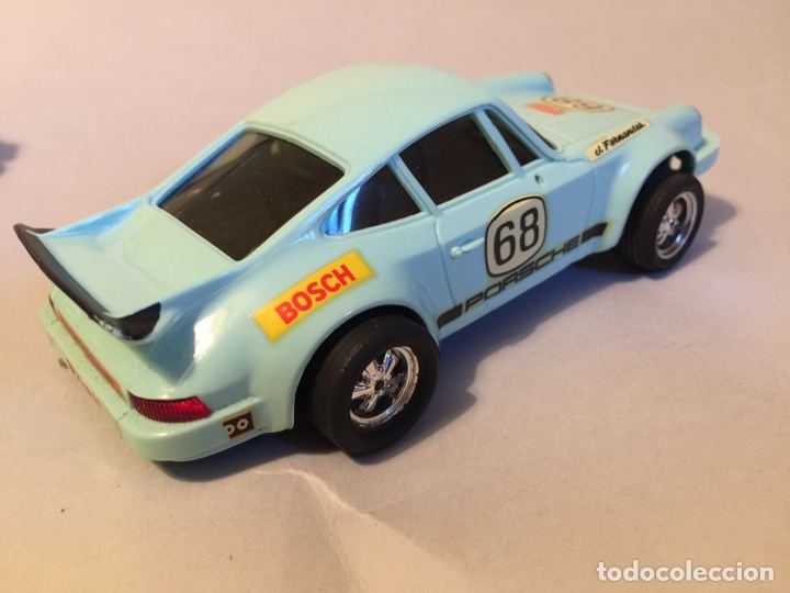 Scalextric: Scalextric Porsche carrera azul - Foto 4 - 176215724