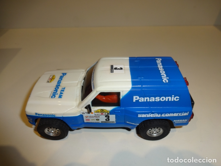 Scalextric: SCALEXTRIC. Exin. TT. Nissan Patrol Panasonic - Foto 3 - 176219244