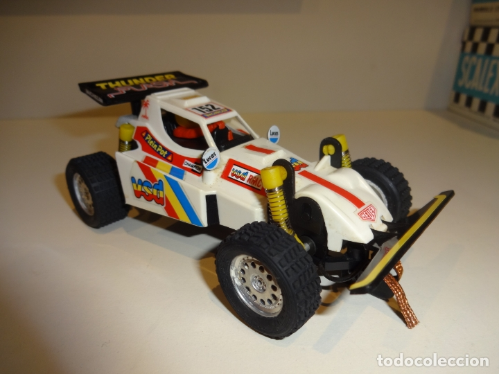 Scalextric: SCALEXTRIC. Exin. TT. Buggy blanco - Foto 2 - 176219292