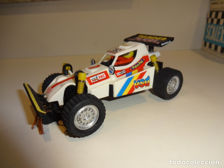 SCALEXTRIC. EXIN. TT. BUGGY BLANCO (Juguetes - Slot Cars - Scalextric Exin)