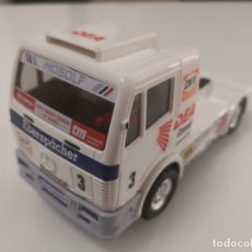 Scalextric: CAMION MERCEDES TRUCK DEA EXIN SCALEXTRIC REFERENCIA 8383 TYCO. Lote 176228824