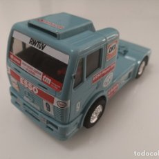 Scalextric: CAMION MERCEDES TRUCK ESSO EXIN SCALEXTRIC REFERENCIA 8384 TYCO. Lote 176228825