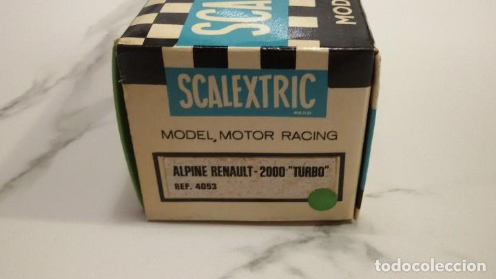 Scalextric: Scalextric Alpine Renault -2000 Turbo - Foto 2 - 176386158