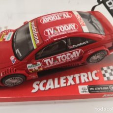 Scalextric: SCALEXTRIC OPEL ASTRA V8 COUPE DTM DUMBRECK REF. 6138. Lote 176394217