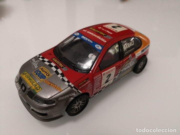 SCALEXTRIC SEAT LEON TECNITOYS REF. 6133 SCALEXTRIC (Juguetes - Slot Cars - Scalextric Exin)