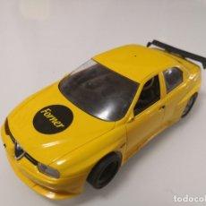 Scalextric: ALFA ROMEO 156 GTA AMARILLO FLY CAR SLOT CON CHASIS SLOT.IT SLOT IT SCALEXTRIC. Lote 176394699