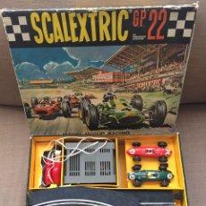 Scalextric: CIRCUITO SCALEXTRIC GP 22 CON 2 FERRARI C - 62. Lote 176470948