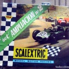 Scalextric: SCALEXTRIC SET AMPLIACION N 2 PARA CIRCUITO G.P. 3 COMPLETO EN MUY BUEN ESTADO ORIGINAL. Lote 176560887