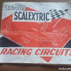 Scalextric: SCALEXTRIC RACING CIRCUITS 4ª EDICION . Lote 176676728
