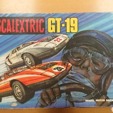 Scalextric: CAJA SCALEXTRIC GT 19 DE EXIN SIN COCHES MERCEDES WANKEL. Lote 176778550