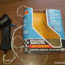 Scalextric: SCALEXTRIC ALTA SENSIBILIDAD CONTROL DE VELOCIDAD MANUAL A4210 CON CAJA ORIGINAL. Lote 176807854