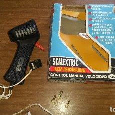Scalextric: SCALEXTRIC ALTA SENSIBILIDAD CONTROL DE VELOCIDAD MANUAL A4210 CON CAJA ORIGINAL. Lote 176808774