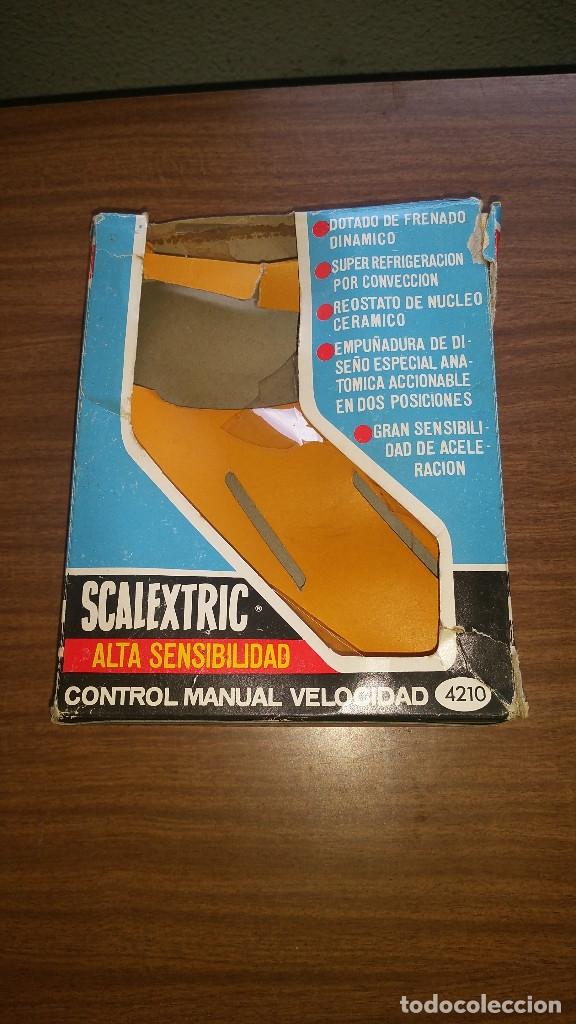Scalextric: SCALEXTRIC ALTA SENSIBILIDAD CONTROL DE VELOCIDAD MANUAL A4210 CON CAJA ORIGINAL - Foto 5 - 176808774