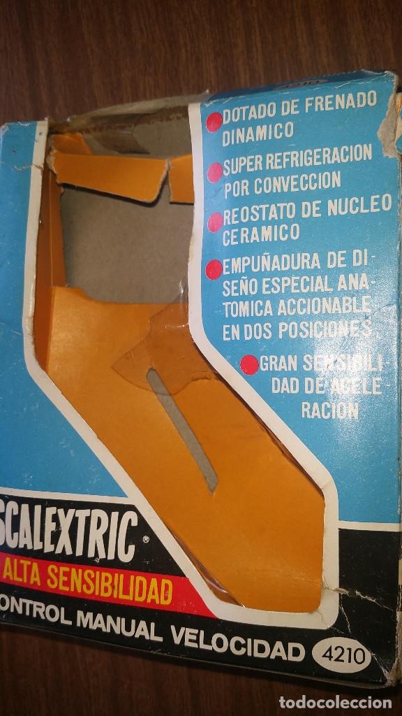 Scalextric: SCALEXTRIC ALTA SENSIBILIDAD CONTROL DE VELOCIDAD MANUAL A4210 CON CAJA ORIGINAL - Foto 6 - 176808774