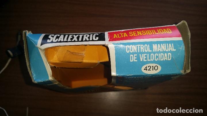 Scalextric: SCALEXTRIC ALTA SENSIBILIDAD CONTROL DE VELOCIDAD MANUAL A4210 CON CAJA ORIGINAL - Foto 8 - 176808774